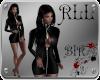 [BIR]Sexy Leather Dress