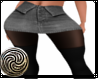 Denim Grey Fold Skirt