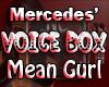Mercedes' VoiceBox MG