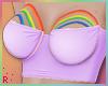 Rach*Rainbow Top -Purple