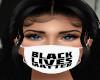BLM White Mask
