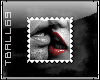 Red lips Stamp