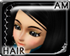 [AM] Della Black Hair
