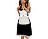 (1NA) Maid  Dress