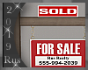 Rus: For Sale Sign