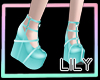 -Lily-Doll Shoe Blue