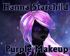 Purple Makeup with Stars
