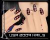 K  USA Nails 2009