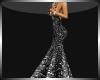 Elegant Dress Grey