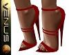 ~V~Lovia Heels Red