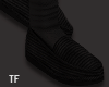 $ Black Loafers