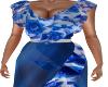 Asa-Beach Dress-Blue