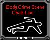 Body Chalk Line