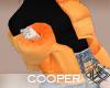 !A orange jacket
