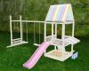 Scaled playground set