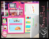 Lil' Girl's Play Kitchen