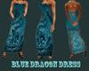 blue dragon dress