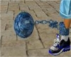 blue ball and chain