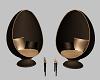 Elegant Egg Chairs