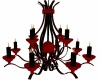 Red.Black Chandelier