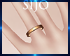 S| Thin Ring - Gold