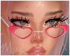 ! Heart Glasses Pink