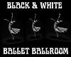 BLCK/WHITE BALLET BALLRM