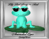 Lily Pad Frog Teal
