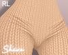 $ Knit Pants Beige RL