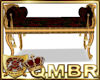 QMBR Bench Gold & Roses