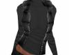 *N* black vest & sweater