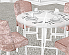 Blush Dining Table.