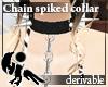 [Hie] Deri chain collar