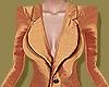 Burnt Orange Silk Blazer