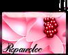 *R* Pink Flower Sticker