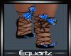 Saphire Butterfly Heels
