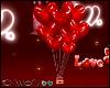 D- Yummy Heart Ballons
