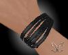 Leather Bracelet L - CC