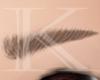 [k] Eyebrows  Brown