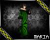 Green_Blk  Long  dress