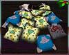 Xmas Pile Pillows 5 co/p