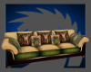 Pagan Brown Couch