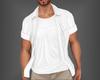 Open Shirt White