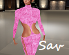 Sexy Knit Pantsuit