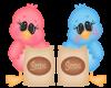 SE-Heart Cute Seed Birds