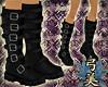 Yumi Raven Buckle Boots
