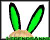 Bunny Ears - Toxic/Black