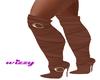 Wiz- Brown Boots