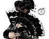 Dark Geisha Lace Fan