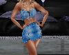 Denium Top and Skirt